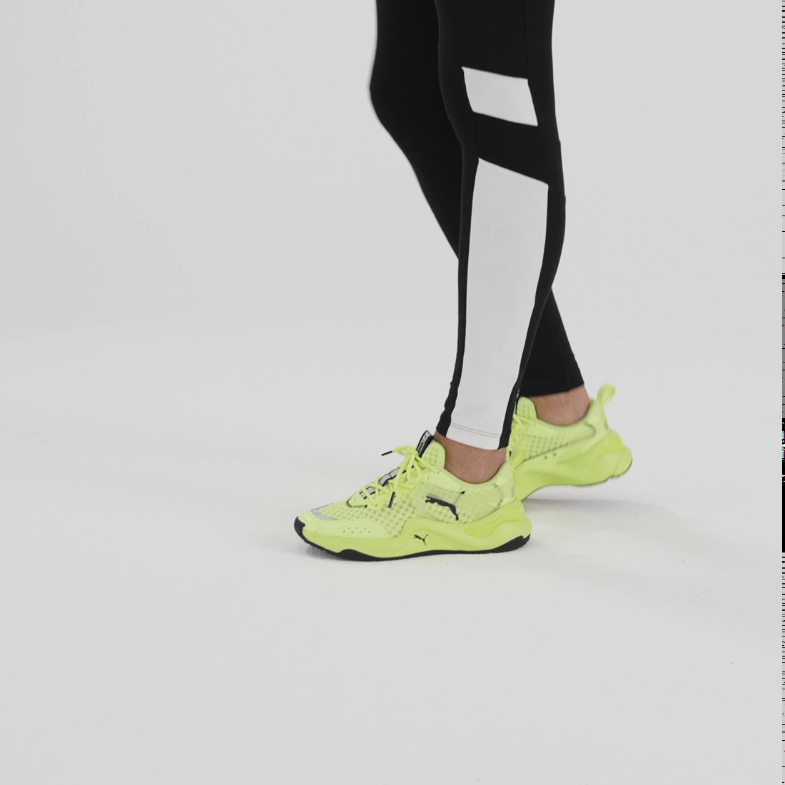 Image Puma Rise Neon Women's Trainers #8