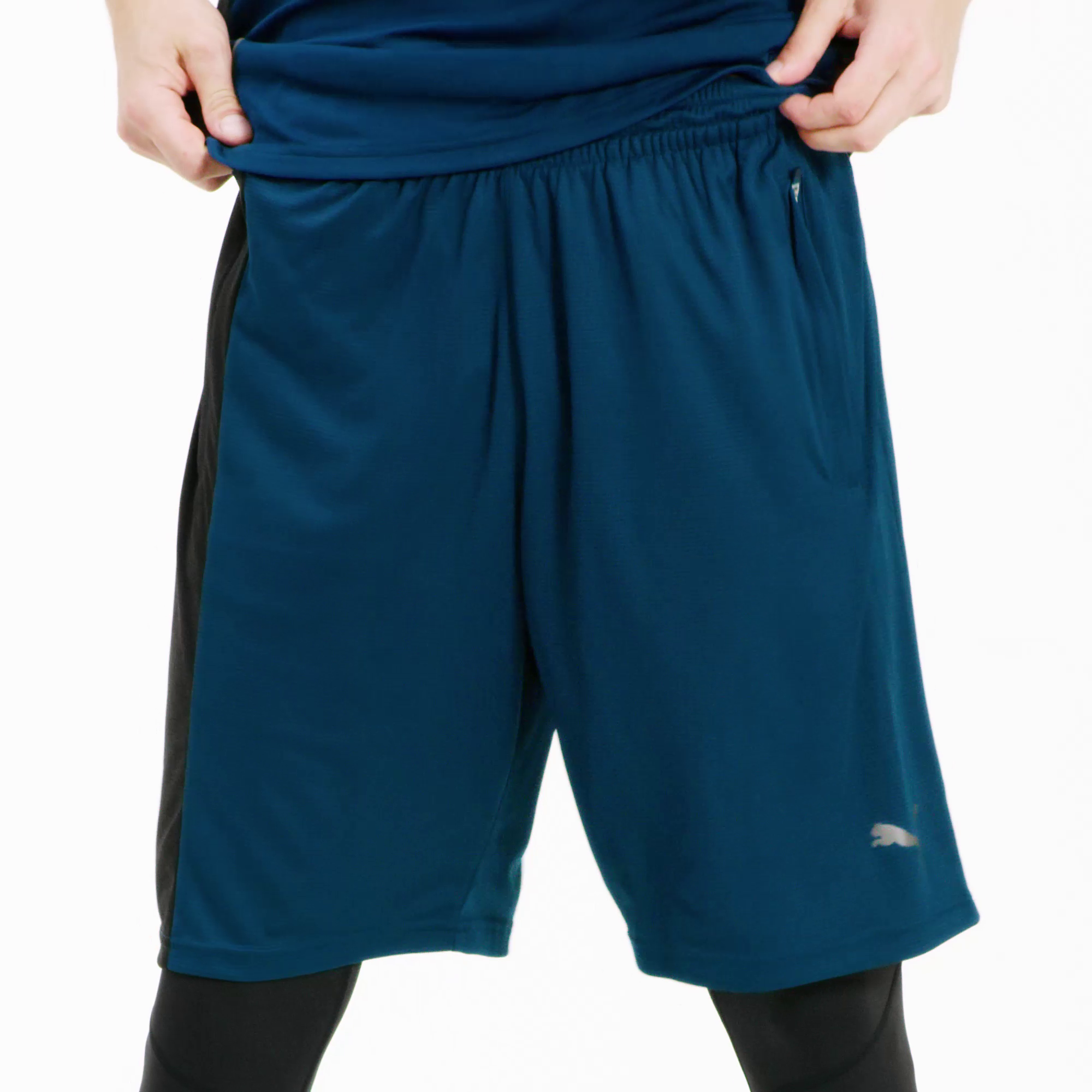 Image Puma Collective Knitted Men's Training Shorts #6