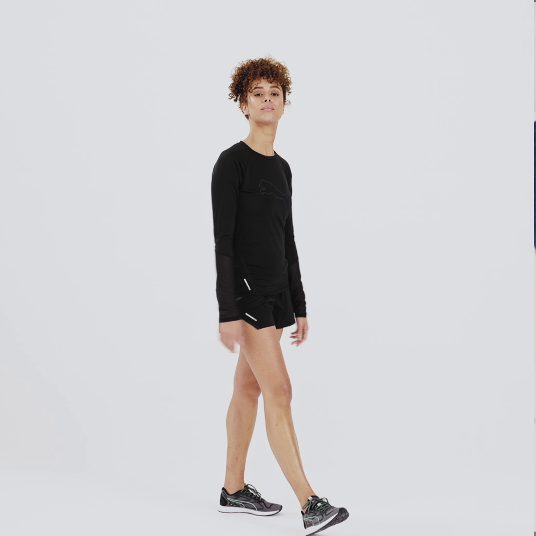 Görüntü Puma Runner ID Koşu Uzun Kollu Kadın T-Shirt #7