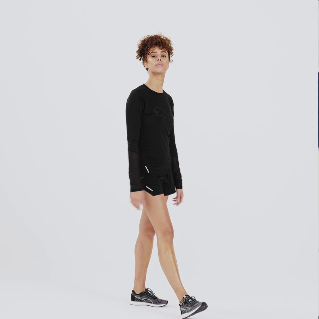Image Puma Runner ID Long Sleeve Women's Running Tee #7