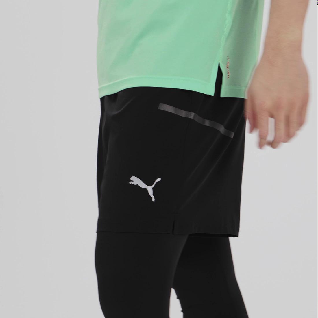 Imagen PUMA Shorts Runner ID 18 cm para hombre #8