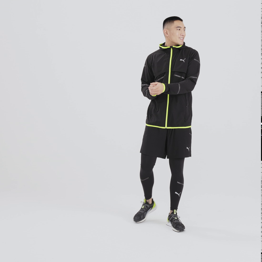 Image Puma Runner ID Men's Jacket #9