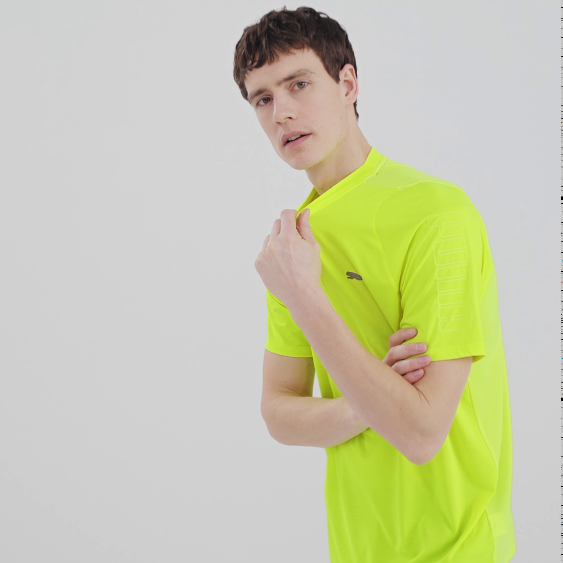 Görüntü Puma Power Thermo R+ Antrenman Erkek T-Shirt #6