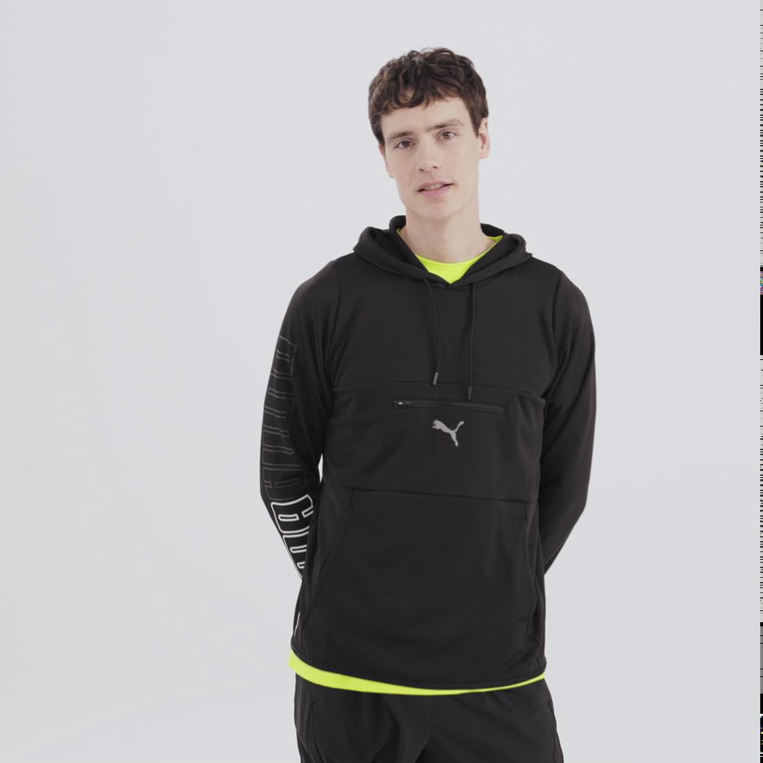 Imagen PUMA Polerón con capucha de training Power Knit para hombre #6
