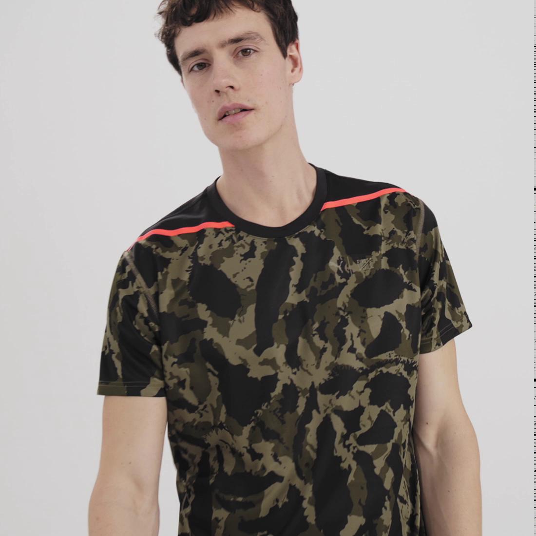 Görüntü Puma PUMA x FIRST MILE Camo Antrenman Erkek T-Shirt #8