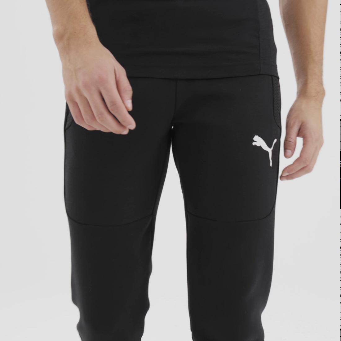 Imagen PUMA Pantalones deportivos para hombre Evostripe #7