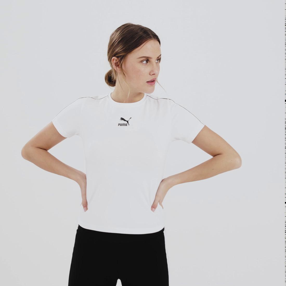 Image PUMA Camiseta Classics Tight Feminina #6