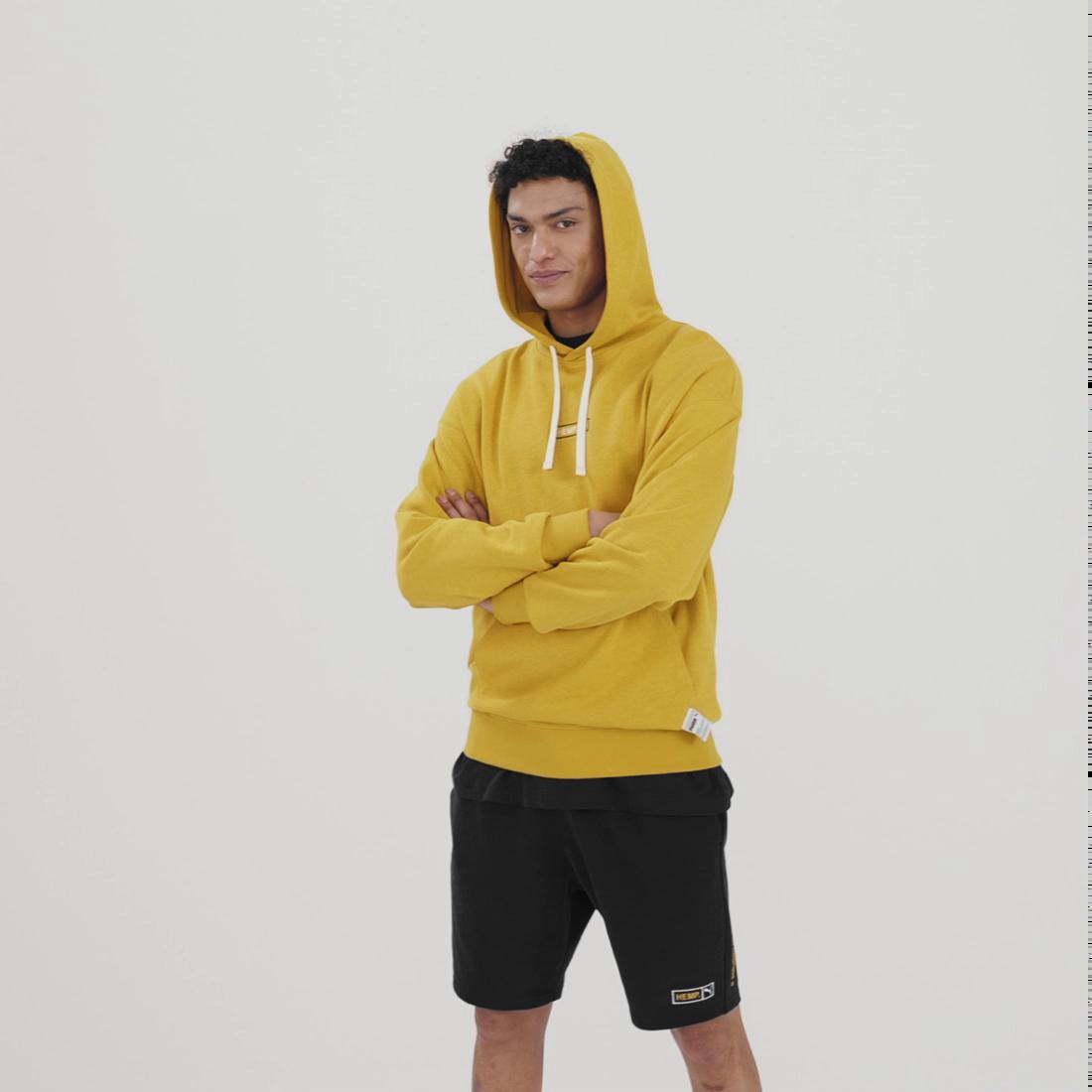 Imagen PUMA Polerón con capucha Hemp para hombre #6