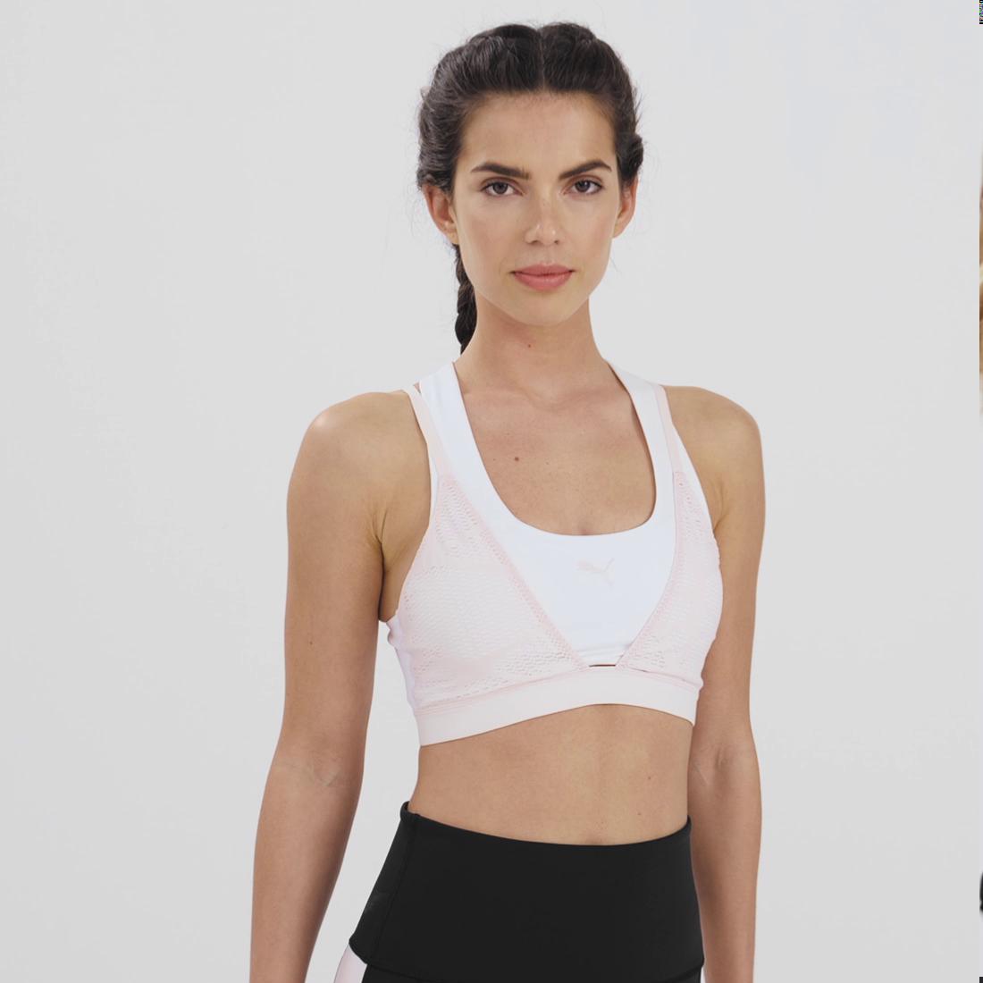 Imagen PUMA Sostén deportivo de training Studio Lace Strappy para mujer #6